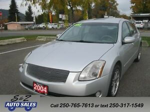 2004 Nissan Maxima LOW KM! FULLY LOADED!