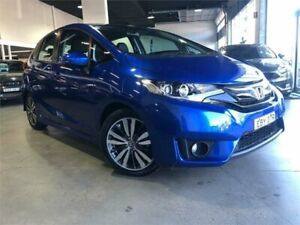 2017 Honda Jazz GF MY17 VTi-S Blue Constant Variable Hatchback Caringbah Sutherland Area Preview