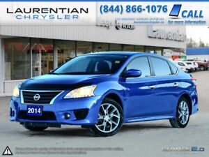 2014 Nissan Sentra SR  -LOW KMS! BACK-UP CAM, BLUETOOTH, HEATED