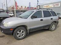 2002 HYUNDAI SANTE FE $ 2995  2 to choose from TODAY'S CASH DEAL