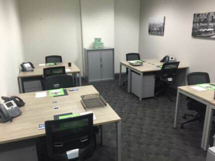 Fully furnished private office for 8 people on St Kilda Road