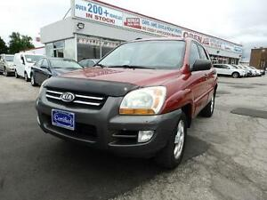 2008 Kia Sportage AWD LX-Luxury Pkg LEATHER SEATS SUN ROOF