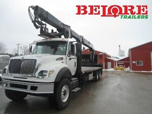 2005 International - Hiab Crane Truck