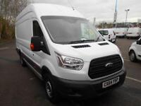 Ford Transit T350 L4 EXTRA LONG HIGH ROOF VAN DIESEL MANUAL WHITE (2014)