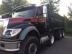 2006 International 7600 Triaxle Dump Truck