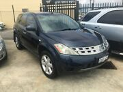 2005 Nissan Murano Z50 ST Blue 6 Speed Constant Variable Wagon St James Victoria Park Area Preview
