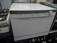 NEW GRADED WHITE TABLE TOP INDESIT DISHWASHER REF: 13118
