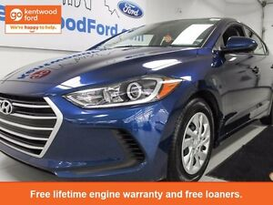 2017 Hyundai Elantra What a beautiful blue! And it's brand new t