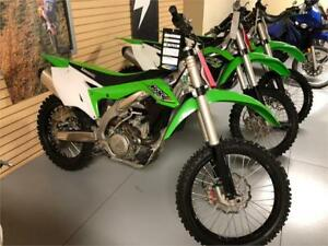 2017 Kawasaki KX450F - Demo - SAVE $3200!!!
