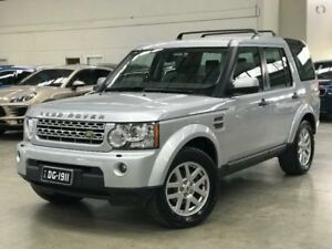 2010 Land Rover Discovery 4 Series 4 10MY TdV6 CommandShift Zermatt Silver 6 Speed Sports Automatic