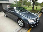 2005 Mercedes-Benz CLK280 W209 Avantgarde Blue 7 Speed Automatic Convertible Kedron Brisbane North East Preview