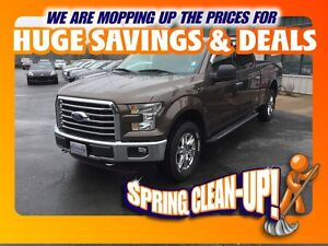 2015 Ford F-150 XTR 4x4 SuperCrew Cab 6.5 ft. box 157 in. WB