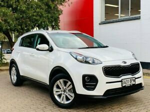 2017 Kia Sportage QL MY17 Si 2WD White 6 Speed Sports Automatic Wagon Medindie Walkerville Area Preview