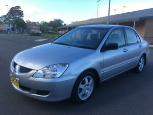 2006 Mitsubishi Lancer CH MY06 ES Silver 5 Speed Manual Sedan Revesby Bankstown Area Preview