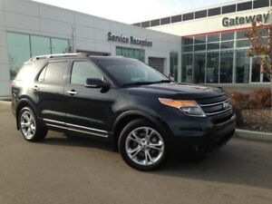 2014 Ford Explorer Limited, Heated/Cooled Leather, Heated Steeri