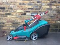 Bosch Rotak 40 electric lawn mower and grass box - BARGAIN