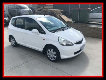 2005 Honda Jazz GD MY05 GLi White 1 Speed Constant Variable Hatchback Fyshwick South Canberra Preview