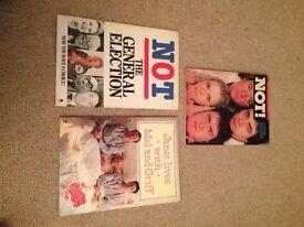 Comedy books x 3 Not! The Nine O'Clock News team