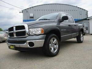 2005 DODGE RAM 1500 4X4, SAFETY & WARRANTY $8,450 ONLY 150,911KM