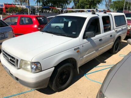2003 Ford Courier PG GL White Manual Utility Hoppers Crossing Wyndham Area Preview