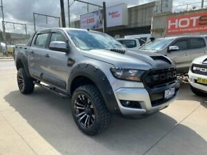 2015 Ford Ranger PX MkII XLS Double Cab Grey 6 Speed Manual Utility Granville Parramatta Area Preview