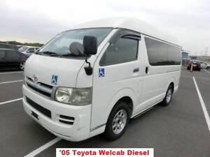 2005 Toyota Hiace WELCAB, wheelchair van, DIESEL AUTO Coraki Richmond Valley Preview