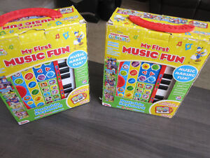 Mickey Mouse Clubhouse.My First Music Fun/w/8 books, New in Box