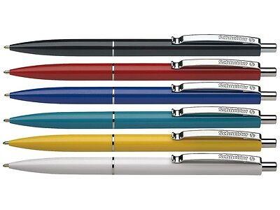 50 x Schneider Kugelschreiber K15 Druckkugelschreiber Kuli versch. Farben
