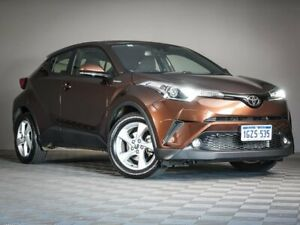 2018 Toyota C-HR NGX10R S-CVT 2WD Bronze 7 Speed Constant Variable Wagon Maddington Gosnells Area Preview