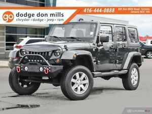 2012 Jeep Wrangler Unlimited Sahara - Auto - leather - max tow -