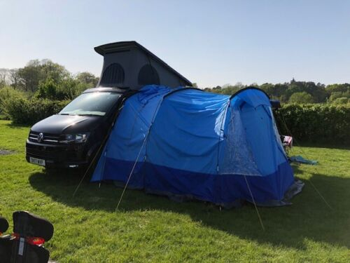 AARHUS 2 BERTH TENT STAND ALONE OR ATTACH TO CAMPER