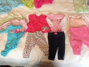 Baby girl lot, 0-3 months, 44 items, excellent condition!
