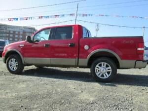 2004 Ford F-150 Lariat 4X4, 4 DOOR LEATHER, SUN-ROOF