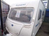 2007 BAILEY RANGER 470/4 BERTH REAR BATHROOM NO DEPOSIT FINANCE,BUDGET CRAVANS LIVERPOOL 2-4-5-6 BTH