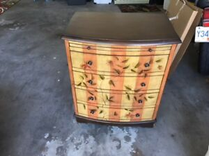 Whimsical chest of drawers