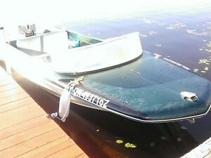 Water Ready Boat Motor and Trailer! REDUCED!