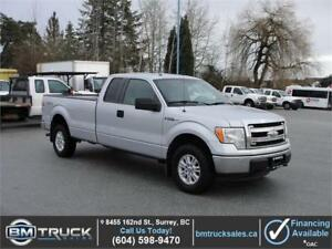 2013 FORD F-150 XLT EXTENDED CAB LONG BOX 4X4