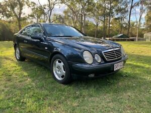 1999 Mercedes-Benz CLK320 C208 Elegance Coupe 2dr Auto 5sp 3.2i Blue Automatic Coupe Sheldon Brisbane South East Preview