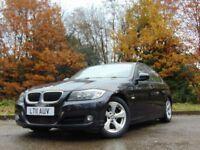 BMW 3 SERIES 2.0 320D EFFICIENTDYNAMICS 4d 161 BHP (black) 2011