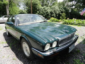 1996 Jaguar XJ6 Sedan. Classic Luxury Car.
