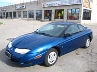NO RUST AT ALL!!!! 2002 SATURN SC1 3DR COUPE