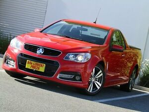 2014 Holden Ute VF MY14 SS V Ute Red 6 Speed Manual Utility Melrose Park Mitcham Area Preview
