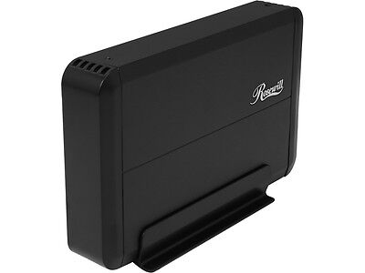 "Rosewill RX307-PU3-35B - 3.5"" Hard Drive Enclosure - SATA III, USB 3.0, Energy S"