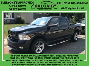 2012 Ram 1500 Sport  *$99 DOWN 2 PAYSTUB GUARANTEED APPROVALS*