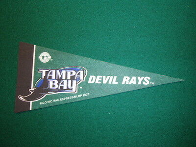TAMPA BAY DEVIL RAYS MLB LICENSED MINI PENNANT, NEW