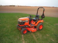 "Kubota BX1500D Compact Tractor,48"" Deck,4x4"