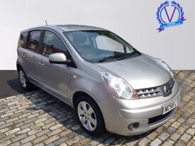NISSAN NOTE 1.6 Tekna 5dr (silver) 2009