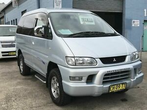 2004 Mitsubishi Delica SPACEGEAR AUS GPS DVD Silver 4 Speed Automatic Wagon Taren Point Sutherland Area Preview