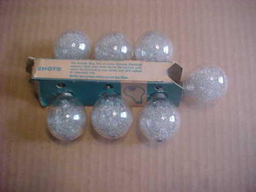 Sylvania Press 25 Camera Flash Bulbs P25 Lot of 7 Blue Dot