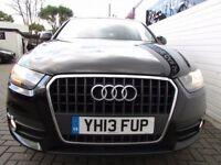AUDI Q3 2.0 TDI SE 5d 138 BHP (black) 2013